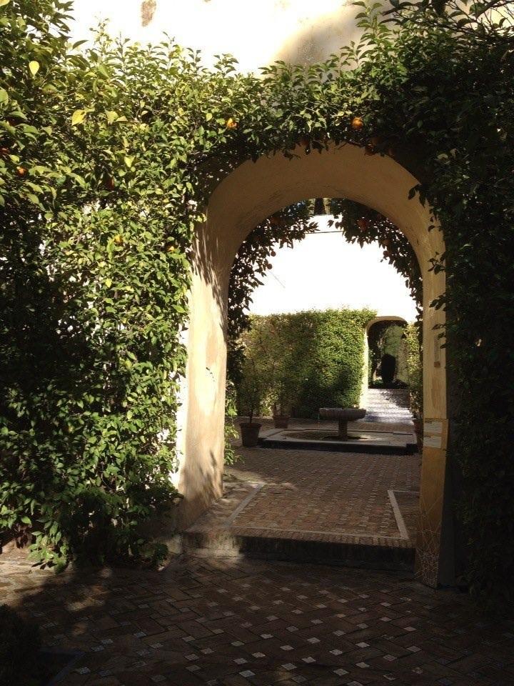 Um dos jardins do Real Alcazar