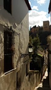 Rua em Albayzín
