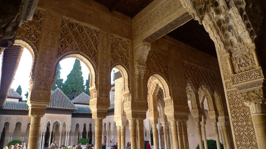 Pateo interno La Alhambra