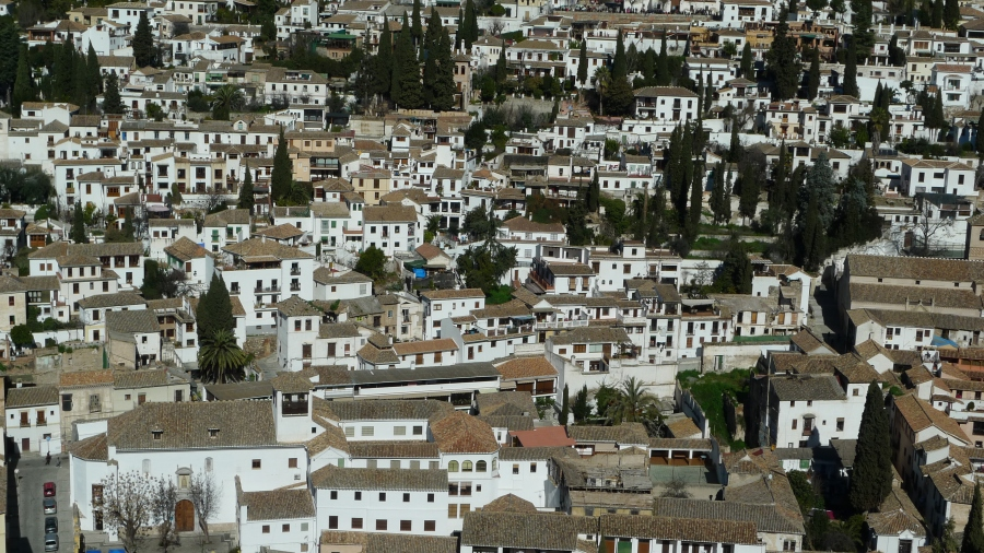 Vista de Albayzín de La Alhambra