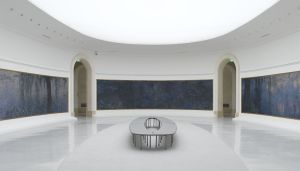Nympheas, de Monet, no Museu Orangerie