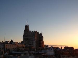 Madrid Hotel OScar Por do Sol 2