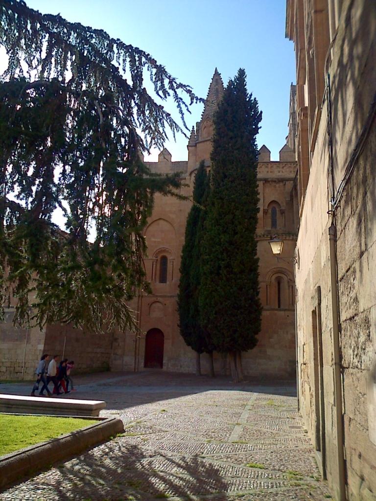 Salamanca, ao lado da catedral