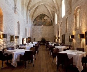Refectorio, restaurante hotel que recebeu uma estrela Michelin