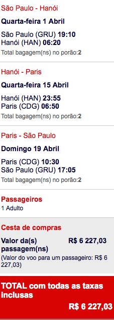 Air France BR VIT Stopover