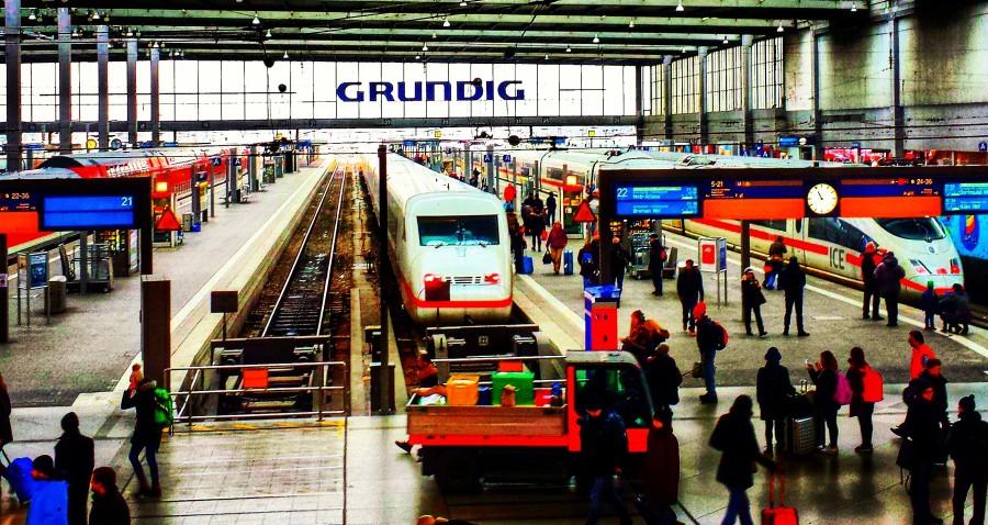 Estação central de Munique