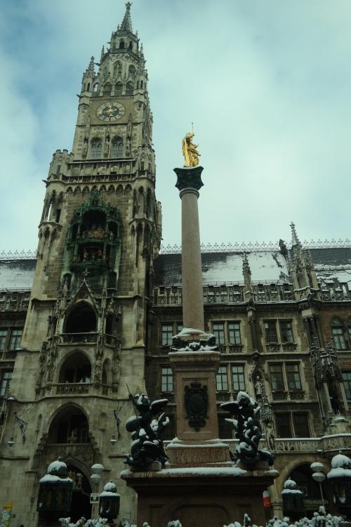 Neues Rathaus, na Marienplatz
