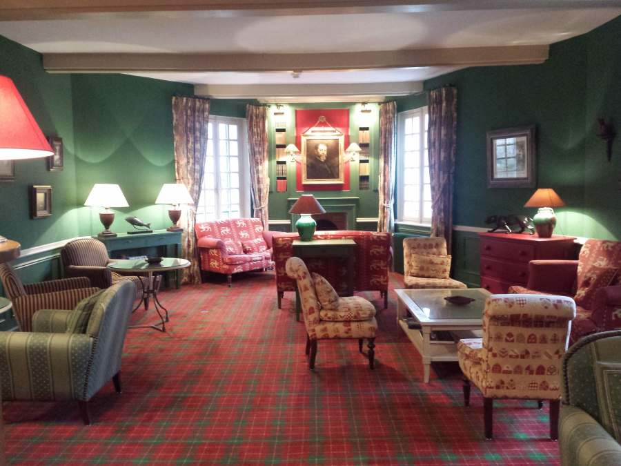 Hotel é uma autêntica casa de campo em Brantome