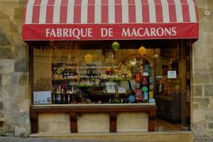 Loja de macaron artesanal e tradicional em Saint Emilion