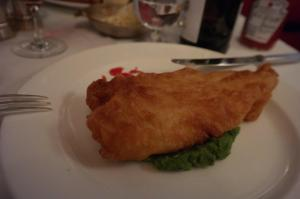 Fish and chips do Bistrotheque