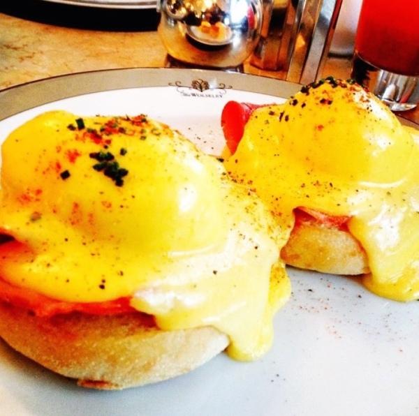 Ovos beneditinos do The Wolseley
