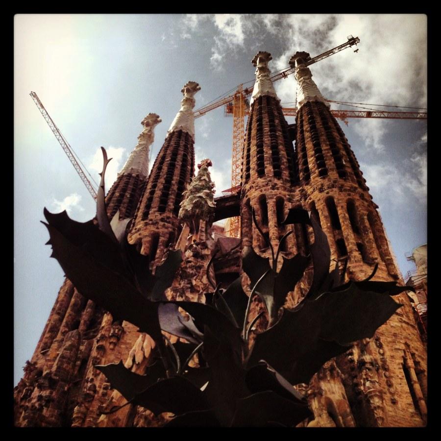 A Sagrada Família, Barcelona