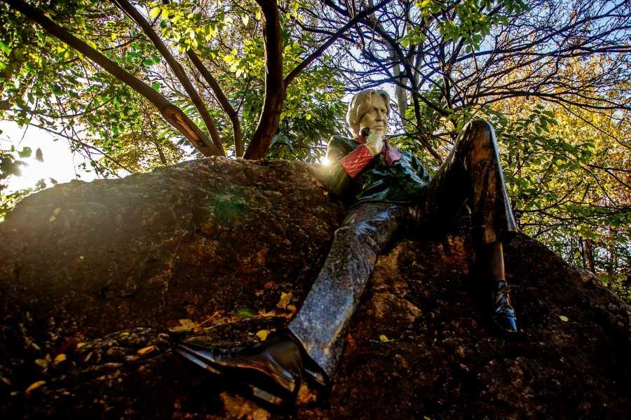 Estátua de Oscar Wilde no Marrion Square