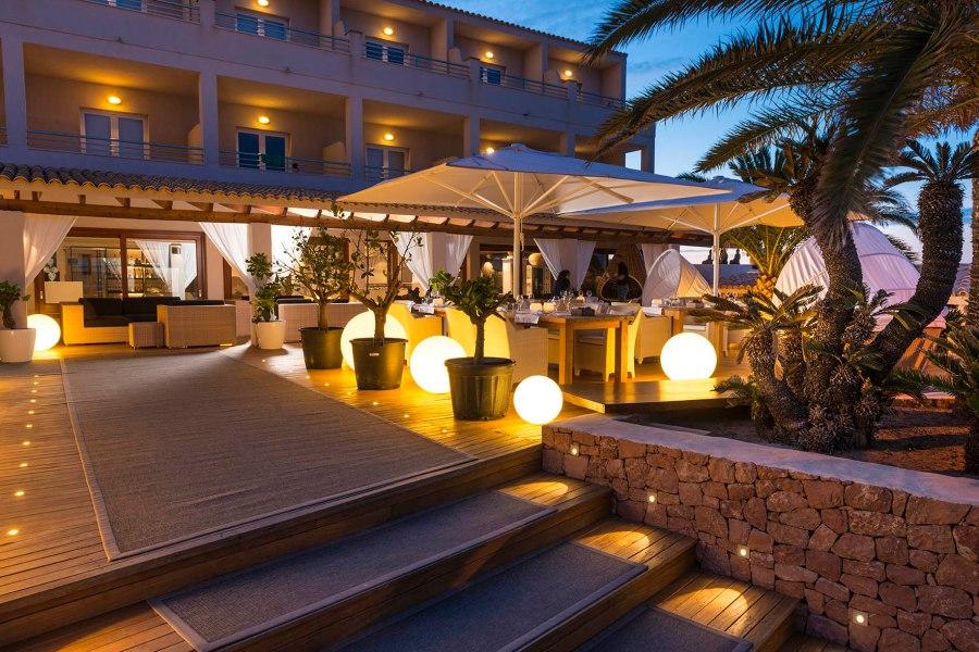 Hotel Tahiti em Formentera