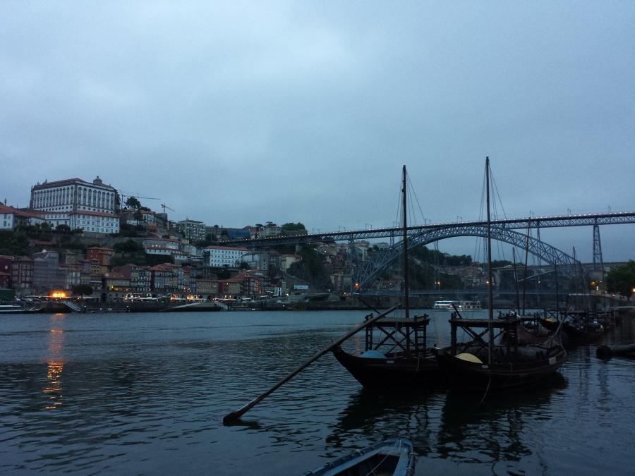 Cidade do Porto e a Ponte Luís I