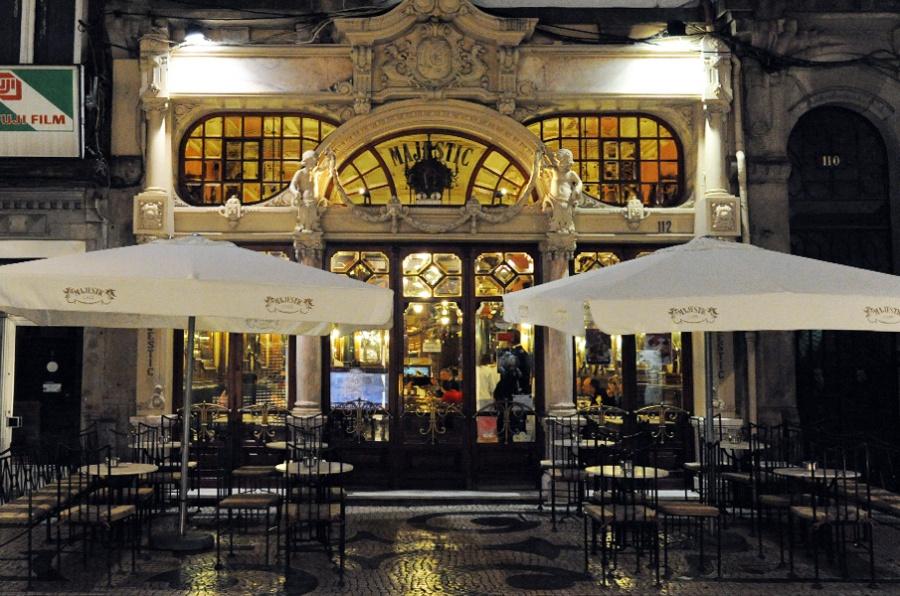 Fachada do Café Majestic. Foto: divulgação.
