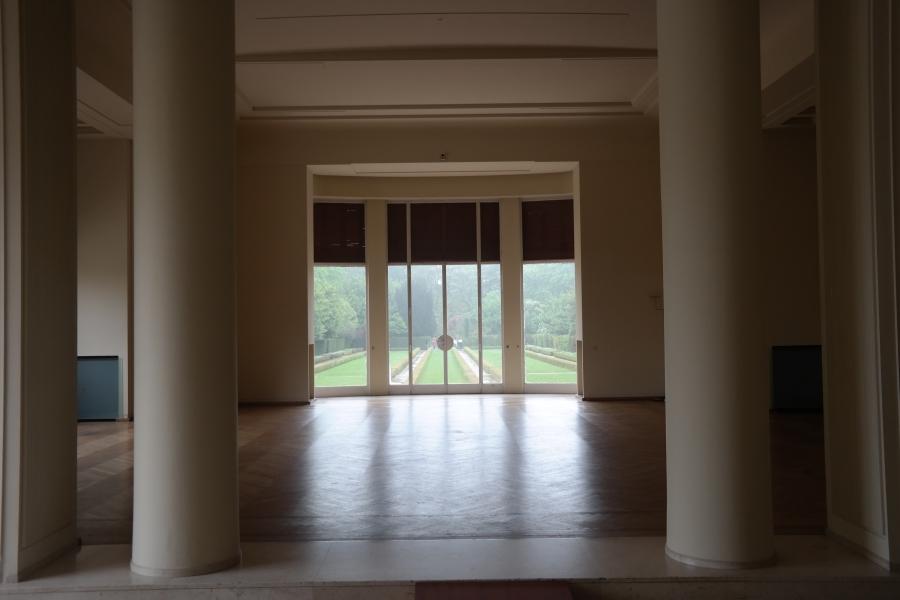Sala principal da Casa Serralves