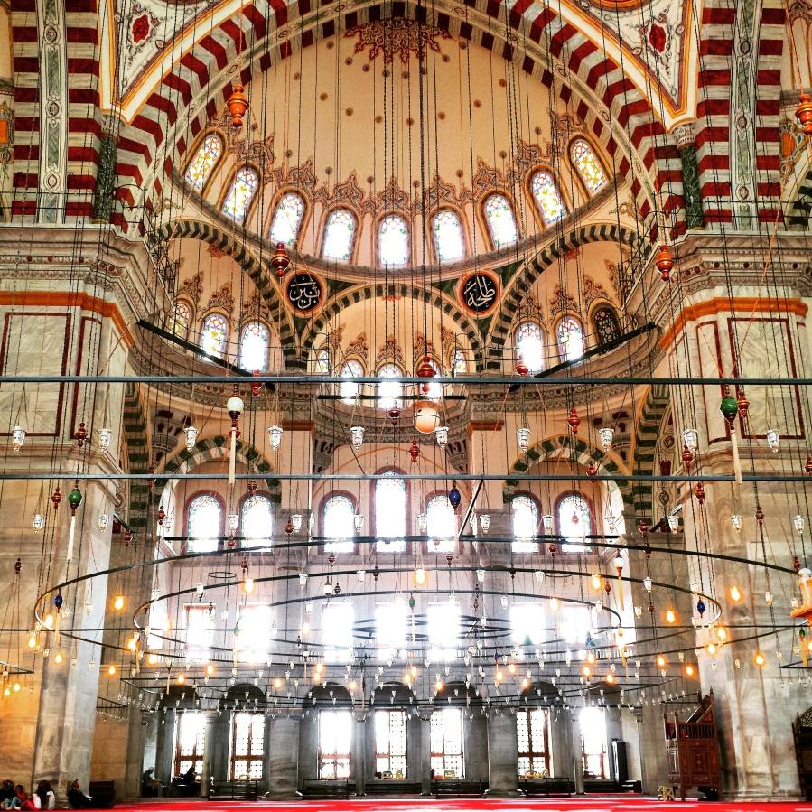 A mesquita de Fatih não é uma das mais bonitas, apesar de não ser tão conhecida pelos turistas