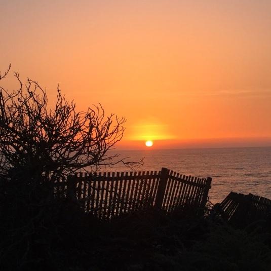 Pôr do Sol na Praia da Aberta Nova